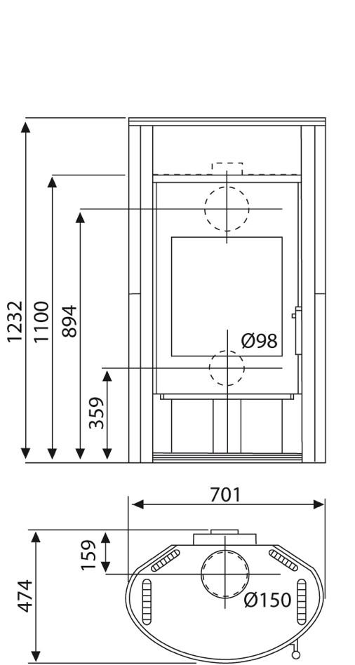 kaminofen wamsler delta 8kw naturstein automatikkamin thermoautomatik ebay. Black Bedroom Furniture Sets. Home Design Ideas