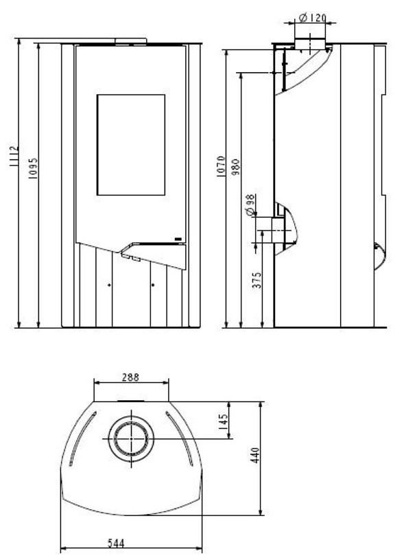 kamin ofen wamsler n line 50 stahlkamin mit 2 schwarz sandstein 2 2 2 ebay. Black Bedroom Furniture Sets. Home Design Ideas
