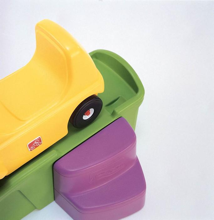 auto rutschbahn step 2 coaster kinderfahrzeug kunststoff. Black Bedroom Furniture Sets. Home Design Ideas