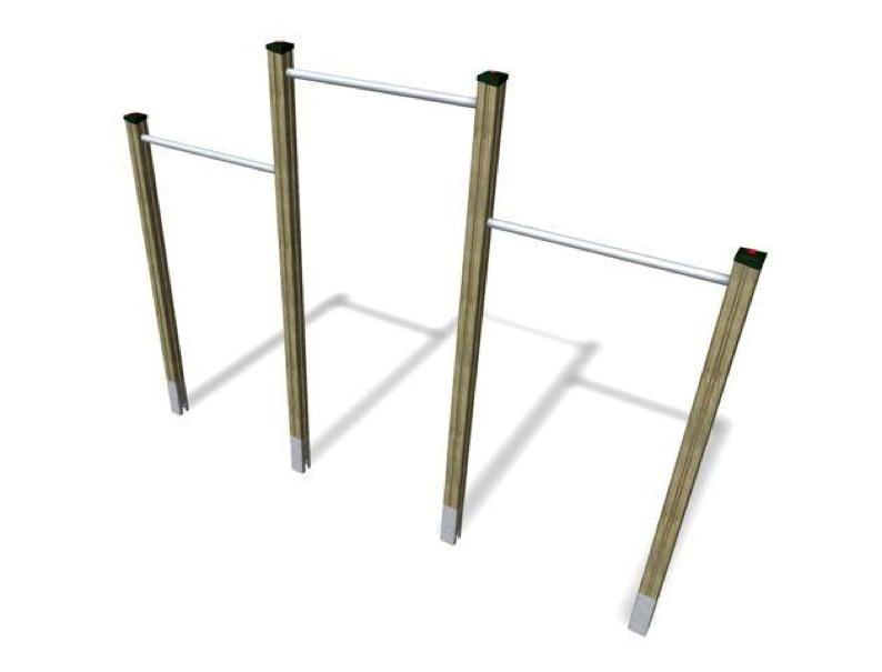 kletterger st din en 1176 reck 3 teilg reckstange vom spielger te fachh ndler. Black Bedroom Furniture Sets. Home Design Ideas