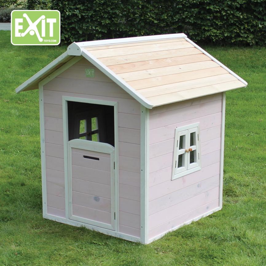 kinder spielhaus exit beach 100 kinderspielhaus holzhaus rosa ebay. Black Bedroom Furniture Sets. Home Design Ideas