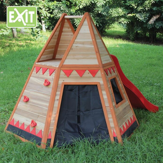 kinder spielhaus exit tipi kinderspielhaus ebay. Black Bedroom Furniture Sets. Home Design Ideas