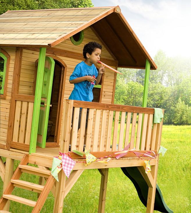 holz kinder spielhaus axi sophie kinderspielhaus auf. Black Bedroom Furniture Sets. Home Design Ideas