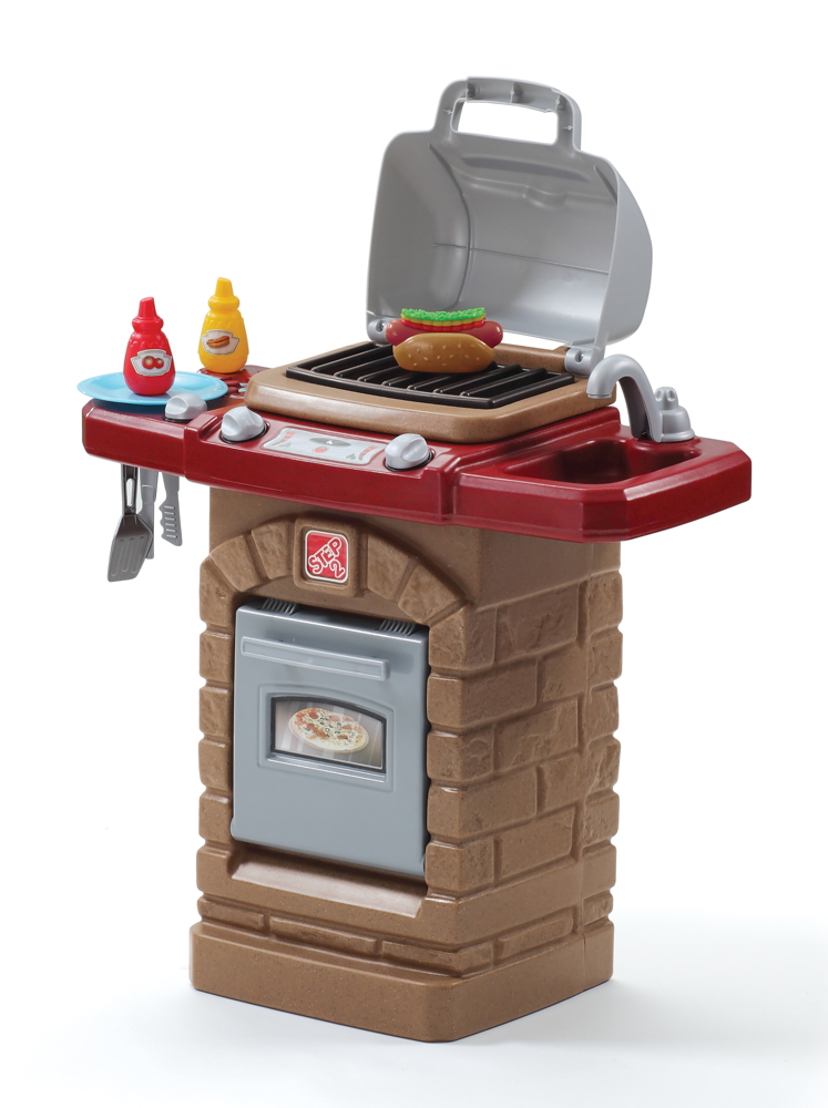 Kindergrill Step 2 «Fixin`Fun Outdoor Grill» Kunststoff Grill