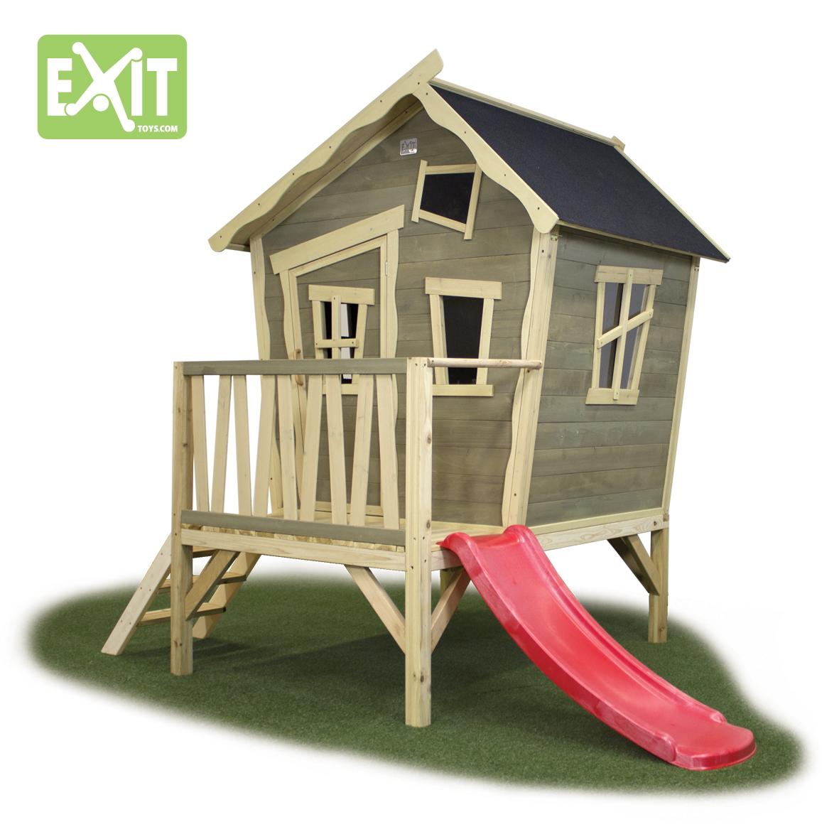kinder spielhaus exit crooky 300 kinderspielhaus. Black Bedroom Furniture Sets. Home Design Ideas
