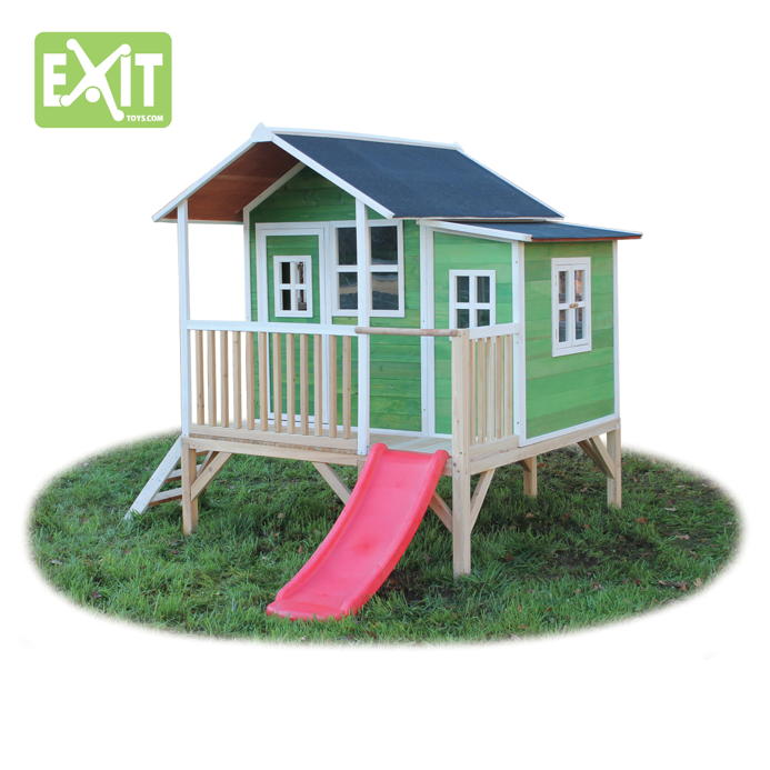 kinder spielhaus exit loft 350 kinderspielhaus holzhaus. Black Bedroom Furniture Sets. Home Design Ideas