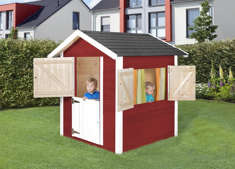 kinder holz spielhaus weka tabaluga drachenh hle. Black Bedroom Furniture Sets. Home Design Ideas