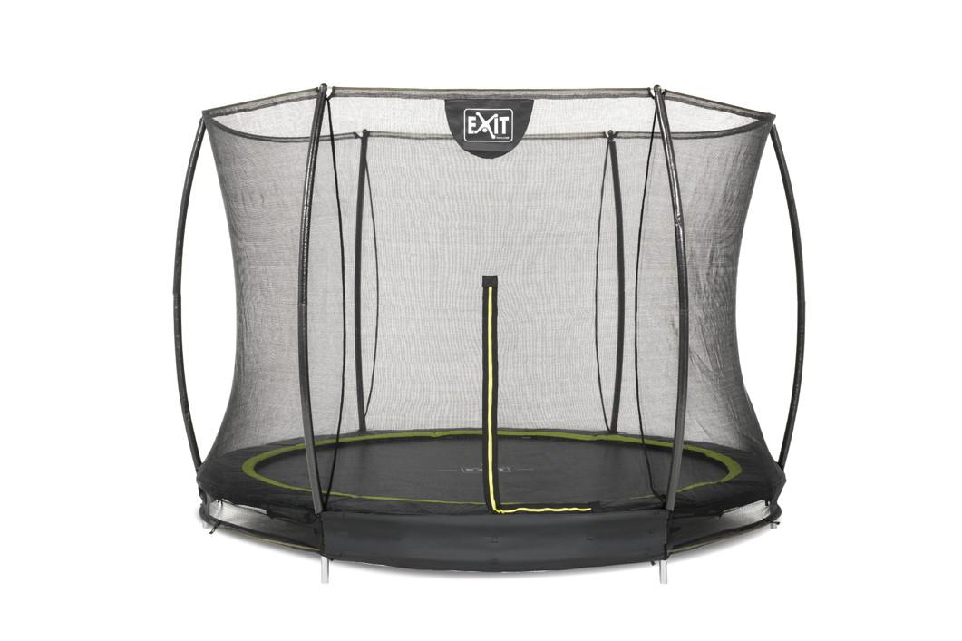 kinder trampolin exit silhouette 305cm bodentrampolin. Black Bedroom Furniture Sets. Home Design Ideas