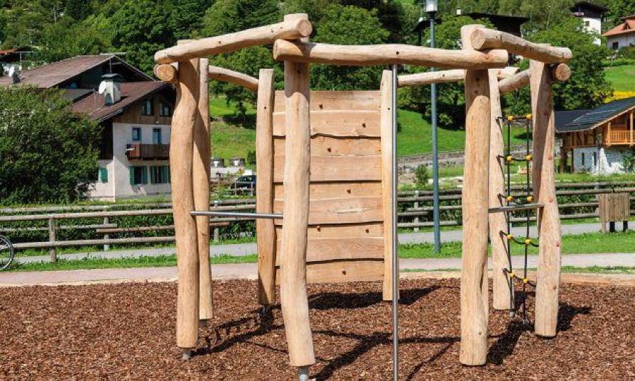 Klettergerüst Für Kinder : Klettergerüst din en «country achteck kletterwand