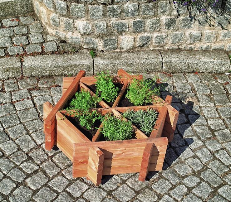 beet-holzumrandung-promadino-anpflanzbeet-holz-anzuchtbeet-4-eckig-b87xt87xh23cm
