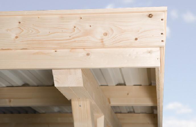 Holzbau flachdach detail  Lagerhaus Gerätehaus Holz_17:36:36 ~ EgeNis.com : Inspirierend ...