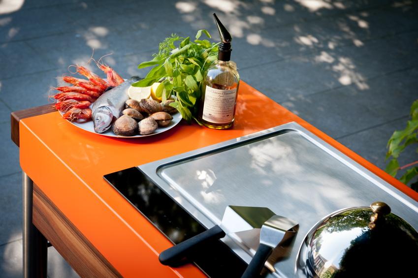 kochplatte indu 580 teppanyaki induktionskochfeld f r outdoork chen gartenm bel fachhandel. Black Bedroom Furniture Sets. Home Design Ideas