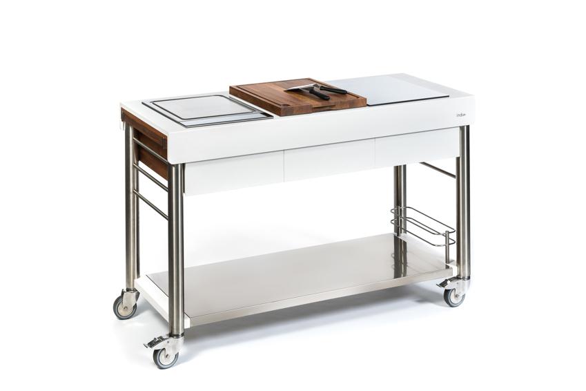 Küchentrolley Holz ~ outdoorküche indu+ serveboy weiss ultimo küchentrolley, grundmodul vom spielgeräte fachhändler