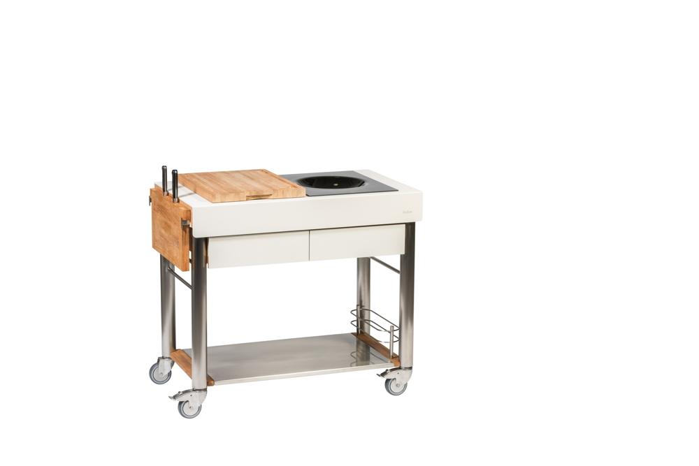 Outdoorküche Garten Kaufen : Outdoorküche indu «serveboy duo küchentrolley set wok