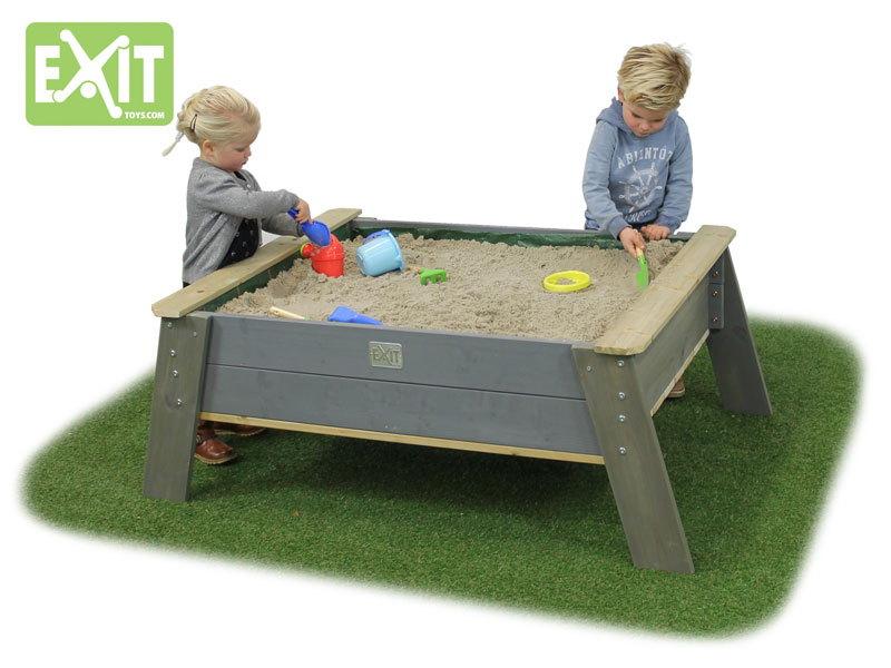 sandkasten exit aksent sandtisch xl sandkiste sandbox kaufen holz garten online shop. Black Bedroom Furniture Sets. Home Design Ideas
