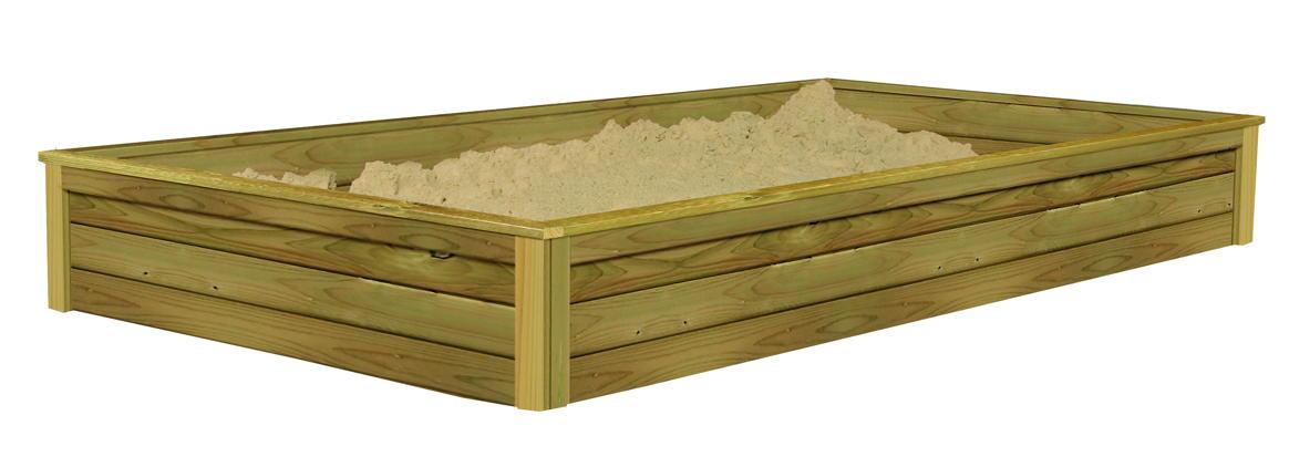 Sandkasten für Spielhaus KARIBU GERNEGROSS