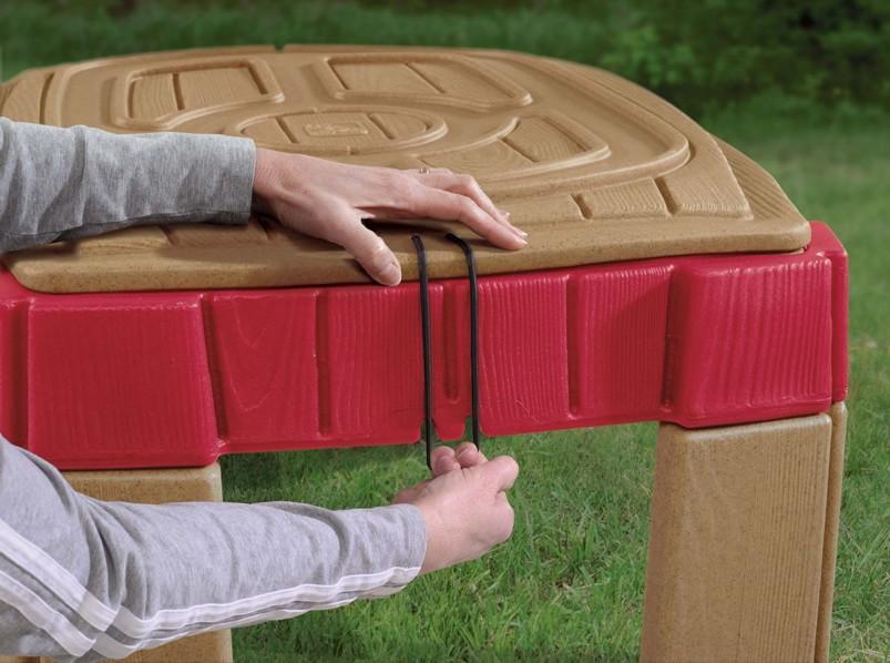sandkasten step 2 sandtisch spieltisch. Black Bedroom Furniture Sets. Home Design Ideas