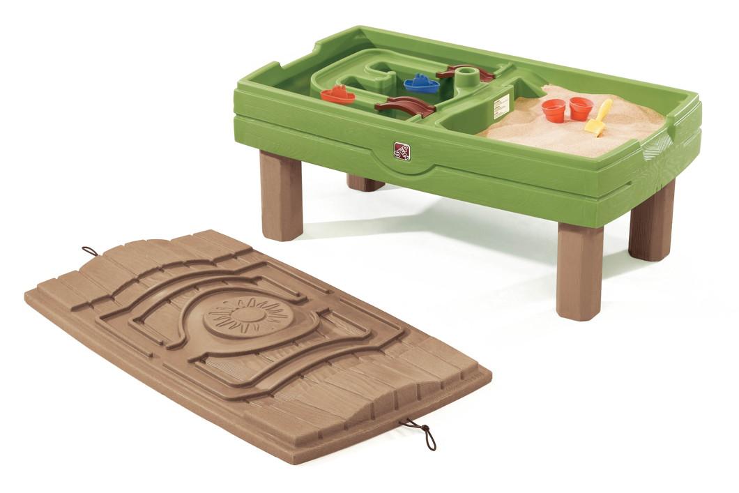 wasser sand spieltisch step 2 sand water wassertisch. Black Bedroom Furniture Sets. Home Design Ideas