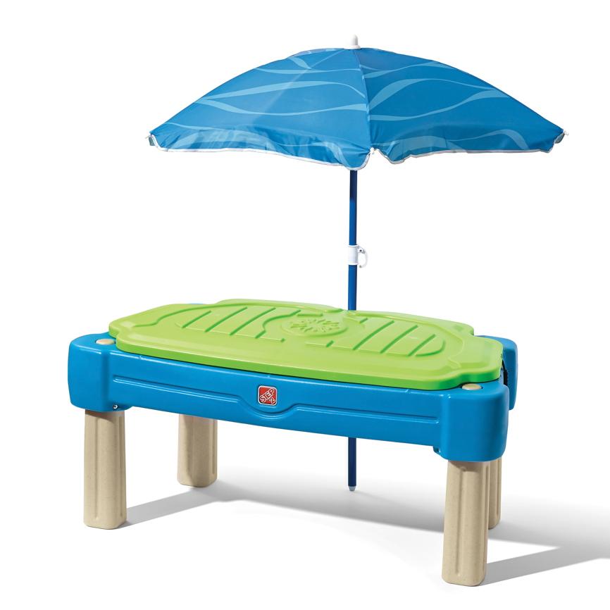 wasser sand spieltisch step 2 cascading cove wassertisch sandkasten sandtisc. Black Bedroom Furniture Sets. Home Design Ideas
