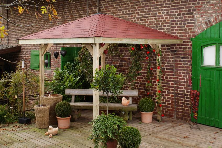 Pavillon Garten Klein_19:04:46 ~ Egenis.com : Inspirierend Garten ... Garten Pavillon Die Vielen Funktionen Der Gartenlaube