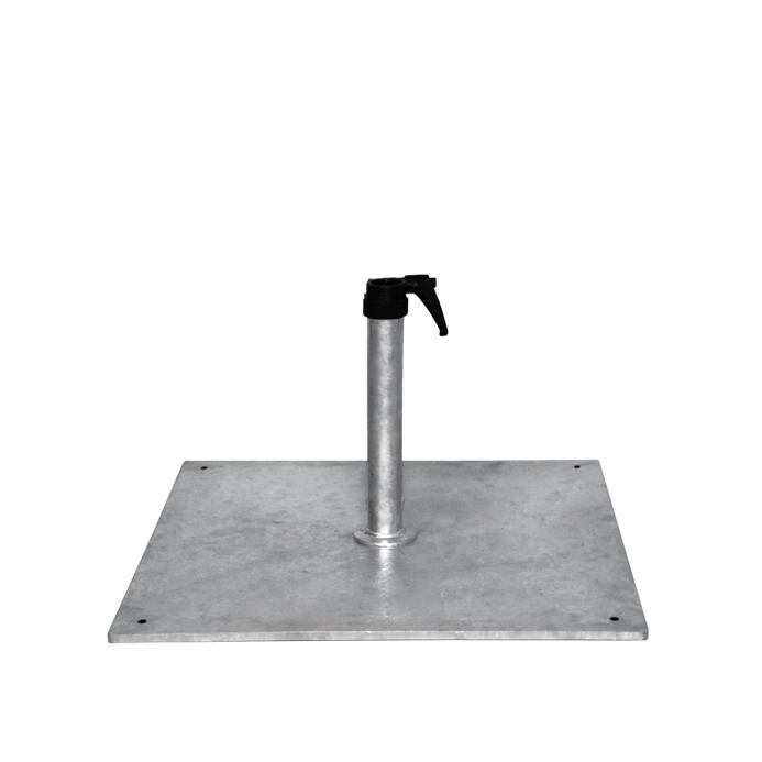 schirmfu shademaker stahlsockel standrohr f r. Black Bedroom Furniture Sets. Home Design Ideas