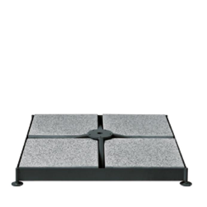 SchirmfußPlatten SHADEMAKER «Sirius Bodenplatten für Sockelrahmen