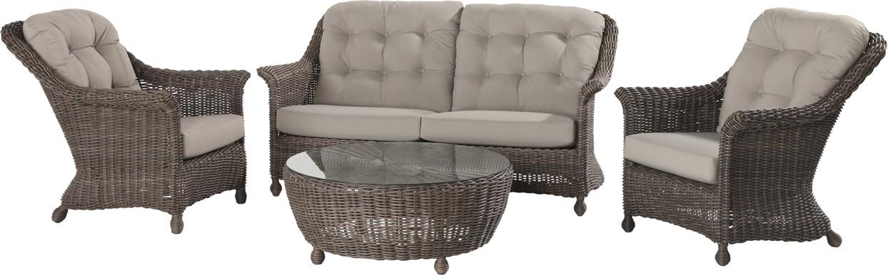polyrattan outdoor sitzgruppe 4seasons madoera lounge sitzgruppe geflecht gartenm bel fachhandel. Black Bedroom Furniture Sets. Home Design Ideas