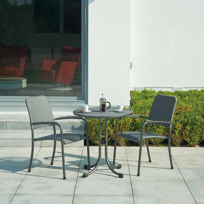 gartenstuhl alexander rose portofino stapelsessel. Black Bedroom Furniture Sets. Home Design Ideas