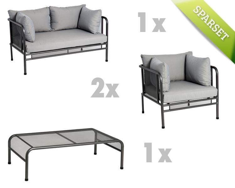 Sitzgruppe Alexander Rose «Portofino Lounge» Gartenmöbel Set 1 ...