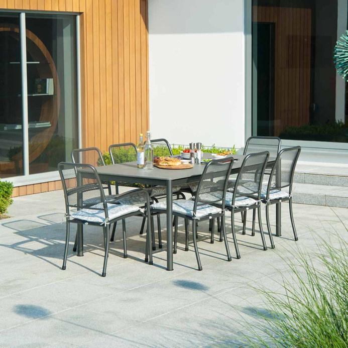 gartenstuhl alexander rose portofino anthrazit. Black Bedroom Furniture Sets. Home Design Ideas