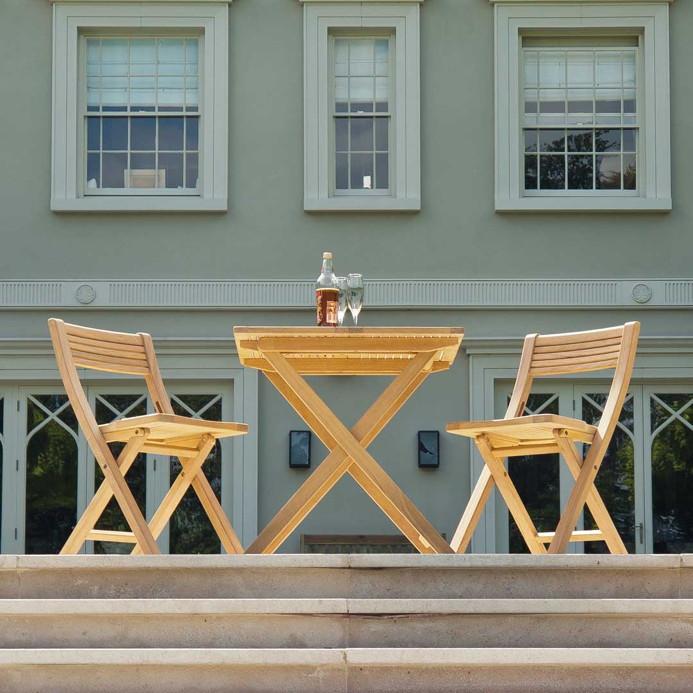 sitzgruppe alexander rose roble balkonset klapptisch. Black Bedroom Furniture Sets. Home Design Ideas