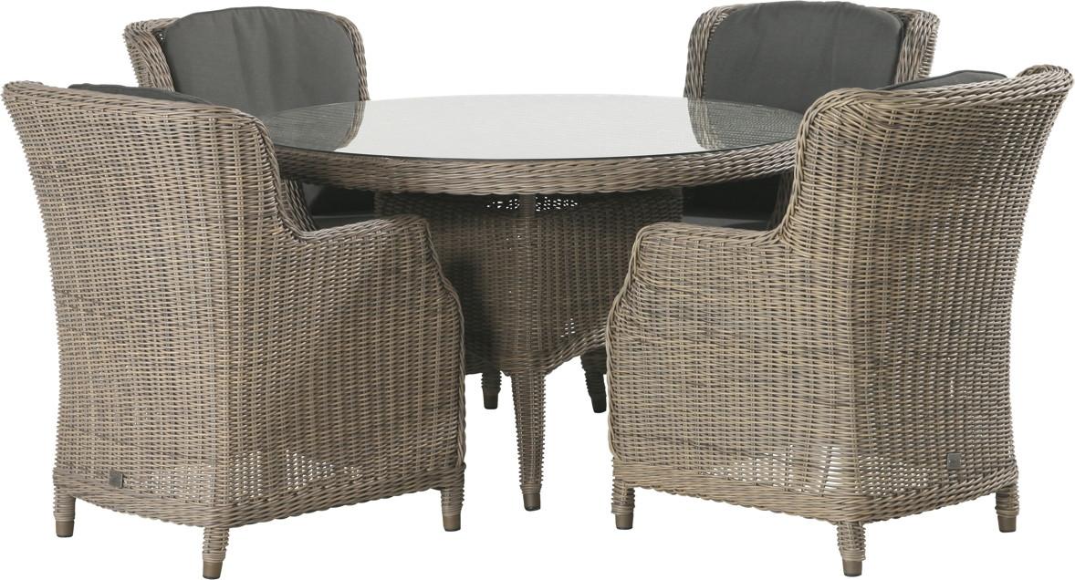 sitzgruppe 4seasons brighton dining pure gartenm ebel. Black Bedroom Furniture Sets. Home Design Ideas