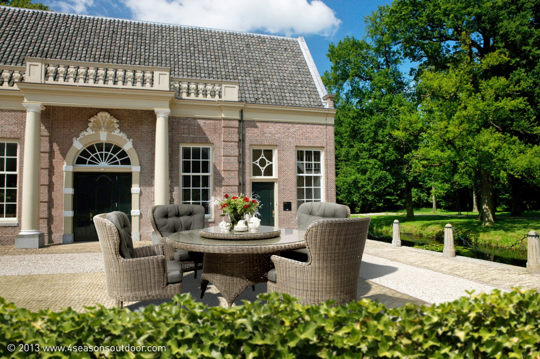 gartenstuhl 4seasons buckingham pure sessel loungesessel korbsessel vom garten fachh ndler. Black Bedroom Furniture Sets. Home Design Ideas