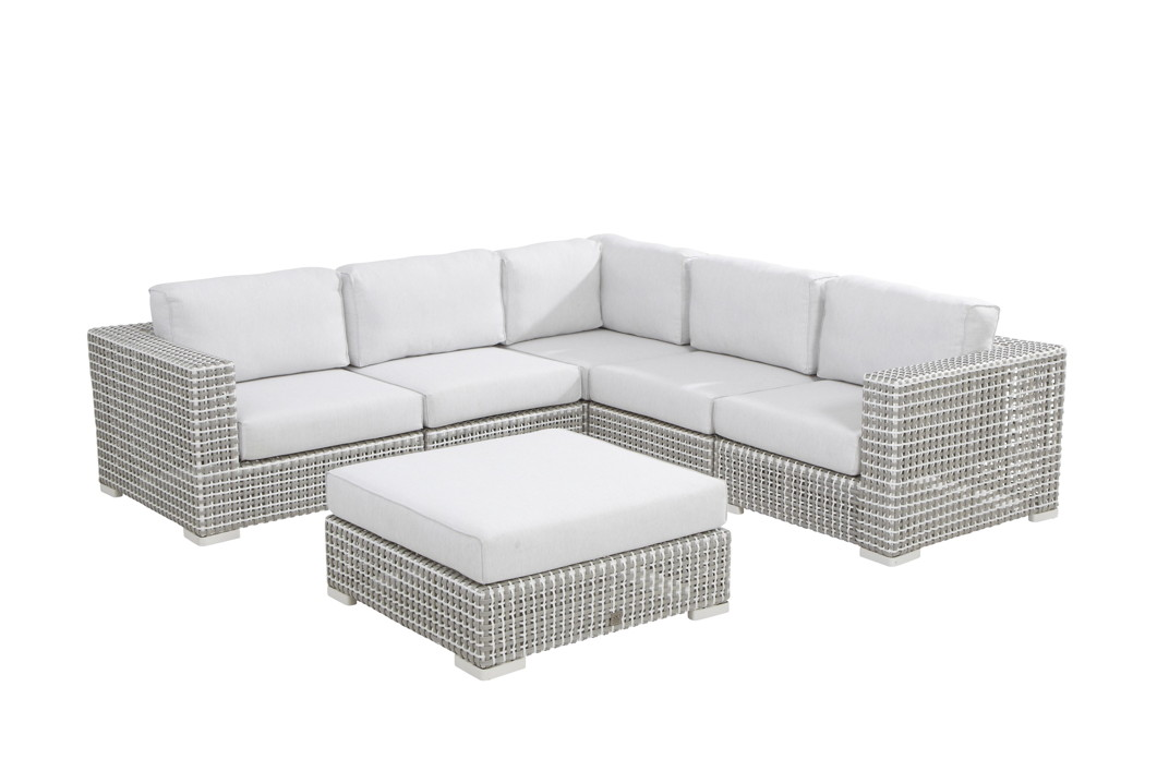 gartenm belset 4seasons madras lounge set 2 rattan. Black Bedroom Furniture Sets. Home Design Ideas