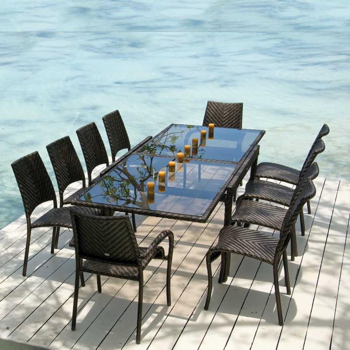 gartenstuhl alexander rose ocean fiji stapelstuhl korbstuhl rattan gartenm bel fachhandel. Black Bedroom Furniture Sets. Home Design Ideas