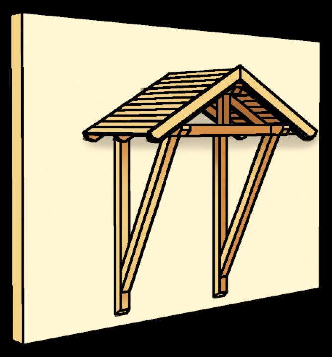 holz vordach skanholz siegen f r haust ren satteldach holz vordach haust r gartenhaus. Black Bedroom Furniture Sets. Home Design Ideas