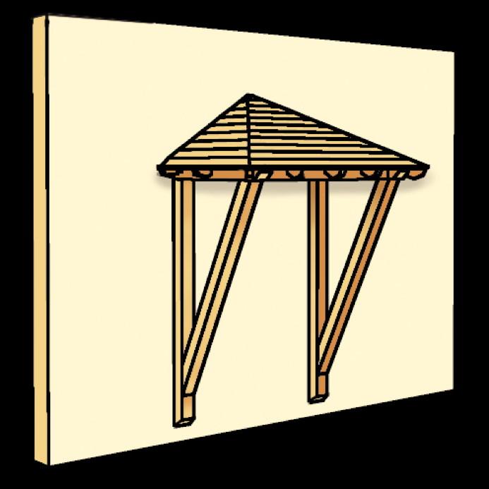 holz vordach skanholz wesel f r haust ren walmdach holz vordach haust r gartenhaus fachwerk. Black Bedroom Furniture Sets. Home Design Ideas