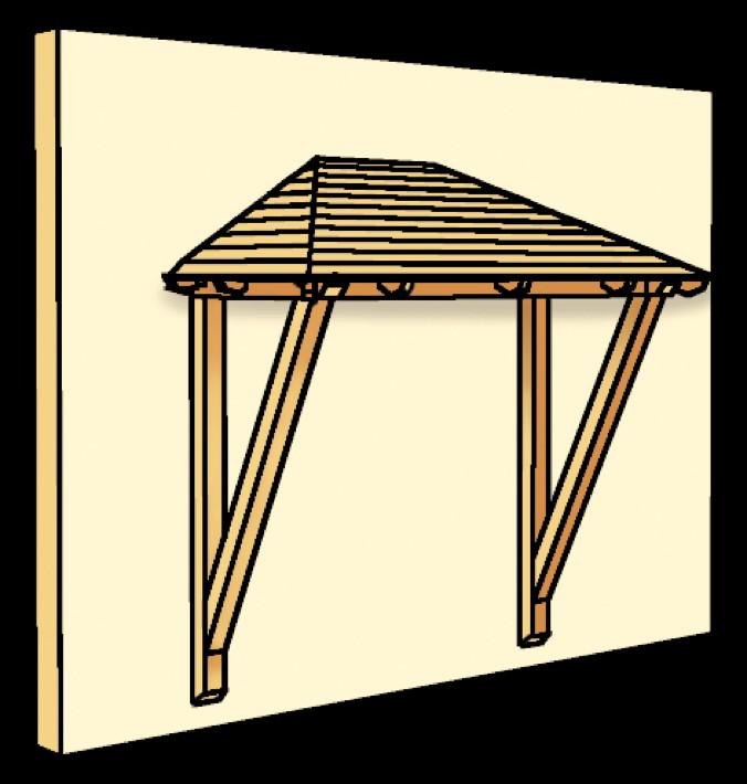 holz vordach skanholz wismar f r doppelt ren haust r walmdach kaufen holz garten. Black Bedroom Furniture Sets. Home Design Ideas