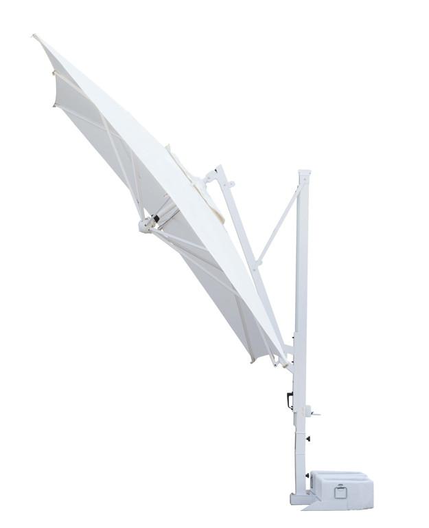 sonnenschirm scolaro galileo white 3x4 ampelschirm ebay. Black Bedroom Furniture Sets. Home Design Ideas