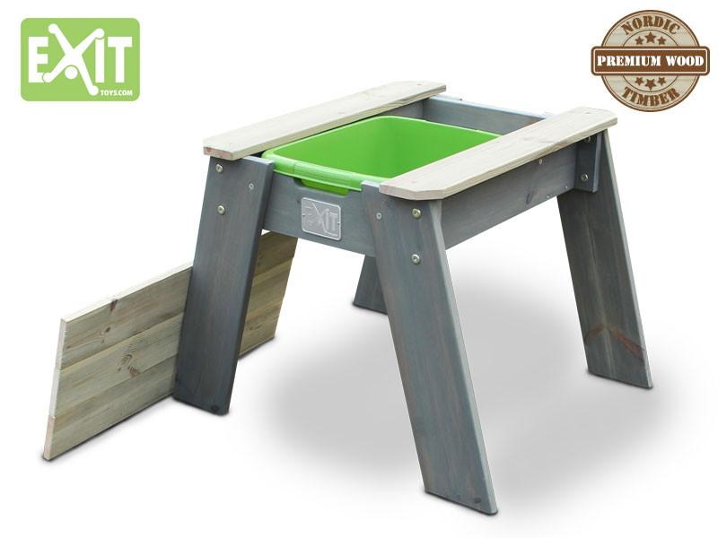 Sandkasten EXIT «Aksent Sandtisch Größe M» Spieltisch Holztisch für Kinder
