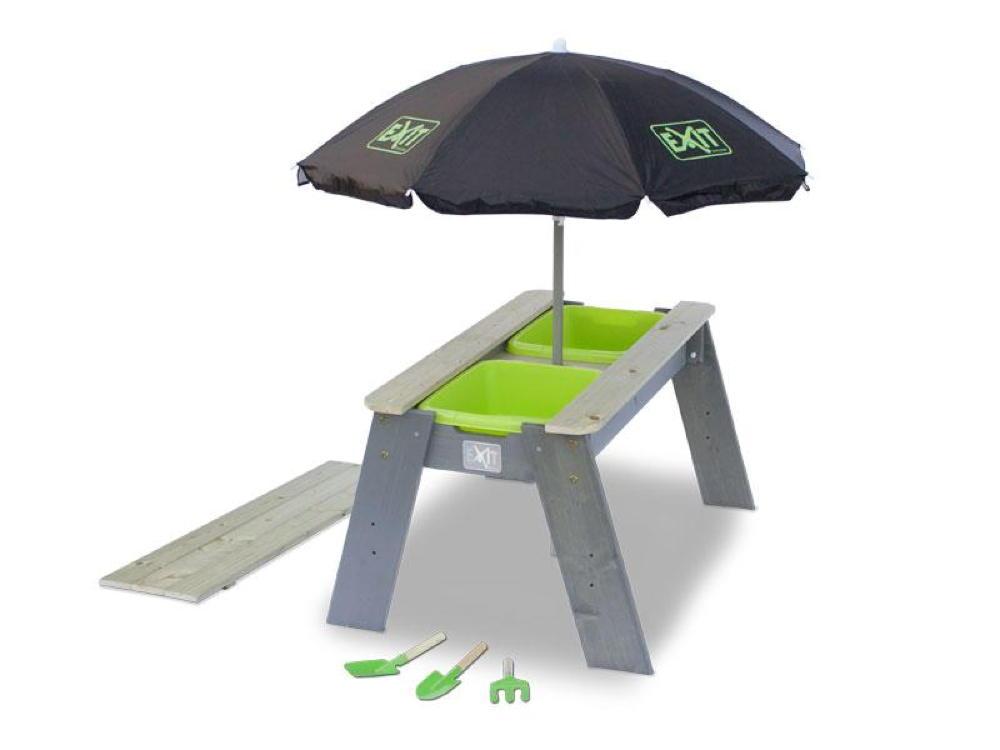 Sandkasten EXIT «Aksent Sandtisch Größe L deluxe» Spieltisch Holztisch Kinder