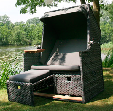 strandkorb rattan kunststoff rugbyclubeemland. Black Bedroom Furniture Sets. Home Design Ideas