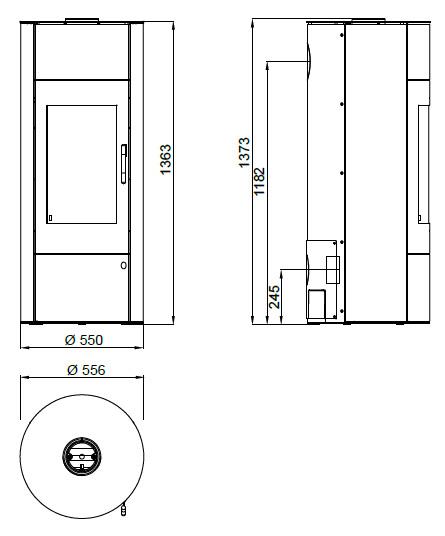 design kamin ofen olsberg k nigsh tte taurus aqua naturstein stahlkamin ebay. Black Bedroom Furniture Sets. Home Design Ideas