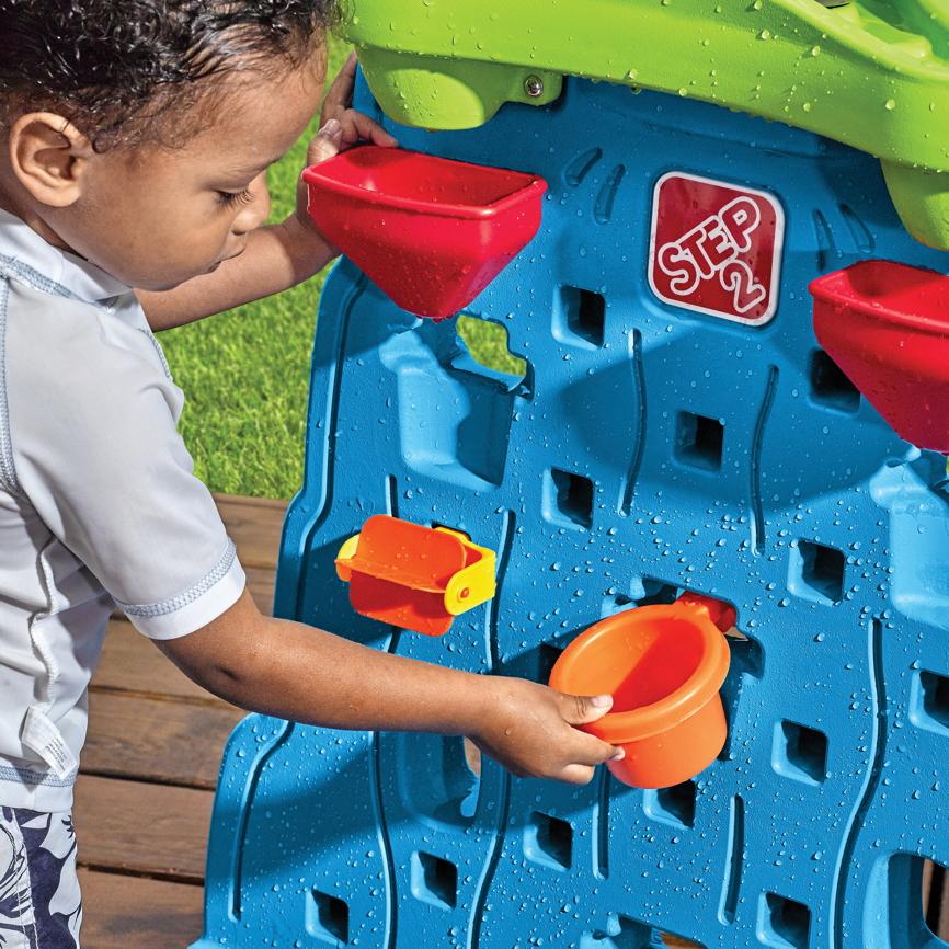 wasser spieltisch step 2 862100 wassertisch wasserball. Black Bedroom Furniture Sets. Home Design Ideas