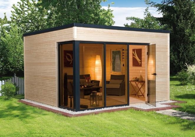 gartenhaus-weka-wekaline-412-flachdach-haus-mit-gro-er-fenster-glasfront-b380xt380cm