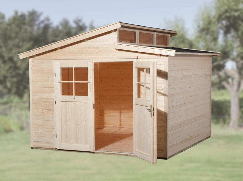 gartenhaus weka linda flachdach. Black Bedroom Furniture Sets. Home Design Ideas