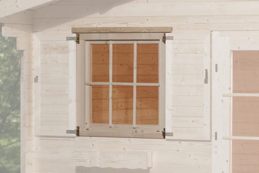 einbaufenster weka zusatz einzelfenster gro f r 45 mm. Black Bedroom Furniture Sets. Home Design Ideas
