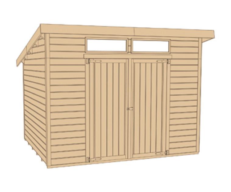 gartenhaus flachdach weka nova plus gr e 1 ebay. Black Bedroom Furniture Sets. Home Design Ideas