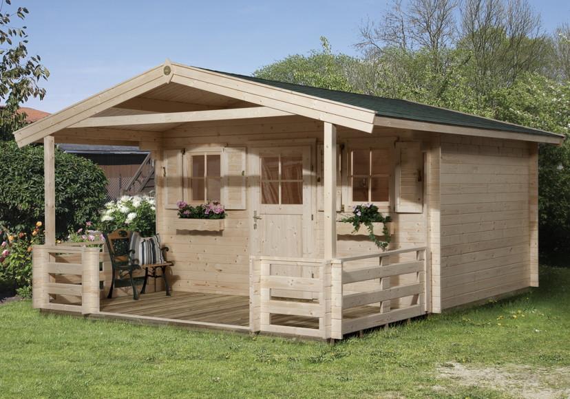 Gartenhaus Holz Konfigurator ~ «Konstanz» 45mm Gartenhaus Holz Haus Bausatz  Gartenhaus aus Holz
