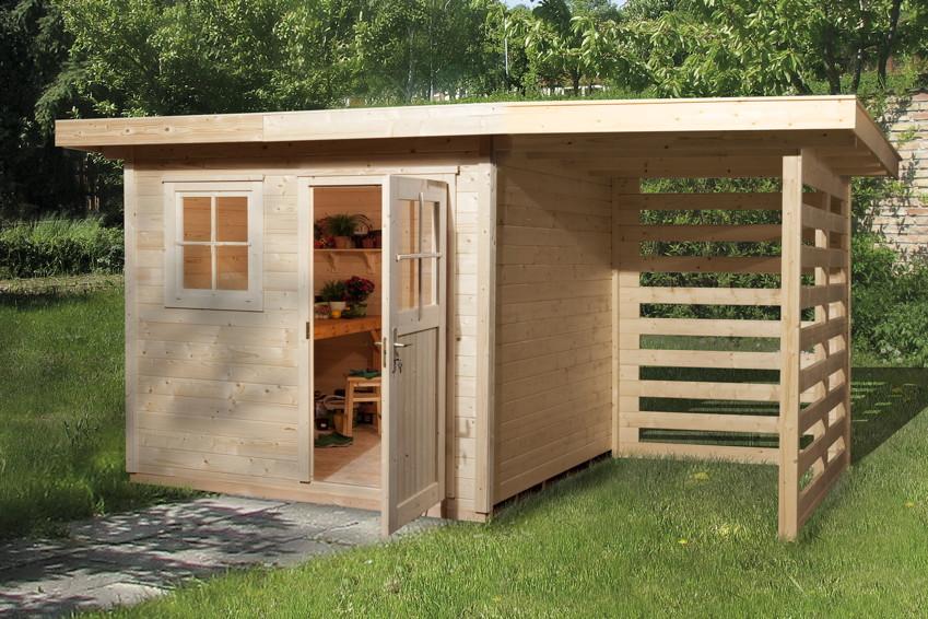 Gartenhäuser Mit Holzlager | Ontspannenjezelfzijn